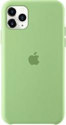 Husa protectie spate cu logo Apple pentru iPhone 11 Pro Max silicon Verde SHO1152 Huse Telefoane