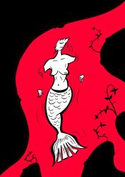 Tablou Canvas Sirena Adormita de Viorel Moraru 35x53 cm Tablouri
