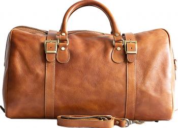 Geanta voiaj dama din piele naturala bagaj de mana avion bej DGV112C Genti de dama