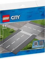 LEGO City Intersectie dreapta si in T No. 60236 Lego