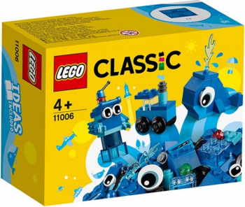 LEGO Classic Caramizi creative albastre No. 11006 Lego