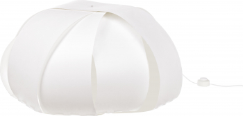 Lampa podea Ellisse 65x65x39 cm Alb Corpuri de iluminat