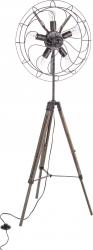 Lampa trepied Air Structura otel si lemn brad Inaltime 167 cm Negru Corpuri de iluminat