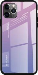Husa de protectie Gradient pentru iPhone 11 Pro protectie spate bumper capac de protectie Roz Violet SHO1437 Huse Telefoane