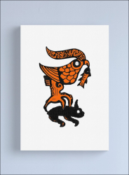 Tablou Canvas Arta Geto-Dacica 35x53 cm Tablouri