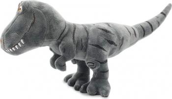 Jucarie din plus dinozaur T-rex gri 22 cm Jucarii