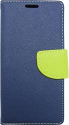 Husa Book Pocket Magnetic Lock Albastru-Verde pentru Huawei P30 Huse Telefoane