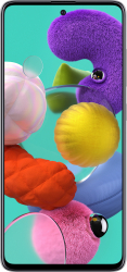 Telefon mobil Samsung Galaxy A51 A515FD Dual SIM 128GB 6GB RAM 4G Prism White Telefoane Mobile
