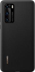 Husa de protectie Huawei originala pentru Huawei P40 soft silicon capac de protectie Negru SHO1560