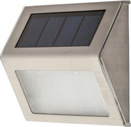 Aplica solara de exterior LED Santiago Rabalux IP44 Crom mat FST8784 Corpuri de iluminat