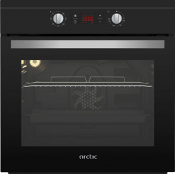 Cuptor incorporabil Arctic AROIE24300RBC 66 L 2200 W Aqua Drop Clean Ventilator Grill Negru