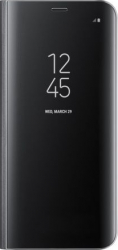 Husa Flip Stand Clear View Huawei P40 Lite Negru Brand Mobile Tuning Huse Telefoane