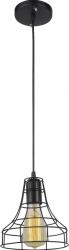 Pendul Franklin 1 x E27 x 60W EFST38547 negru Corpuri de iluminat