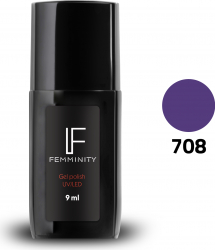 Oje semipermanente F708 9ml - Femminity Manichiura