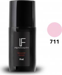 Oje semipermanente F711 9ml - Femminity Manichiura