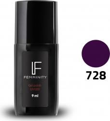 Oje semipermanente F728 9ml - Femminity Manichiura