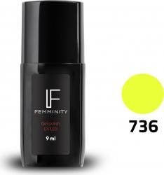 Oje semipermanente F736 9ml - Femminity Manichiura
