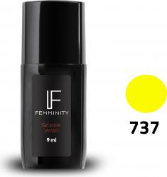 Oje semipermanente F737 9ml - Femminity Manichiura