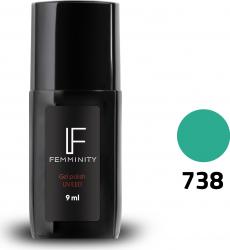 Oje semipermanente F738 9ml - Femminity Manichiura