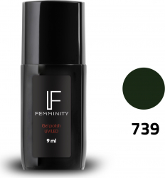 Oje semipermanente F739 9ml - Femminity Manichiura