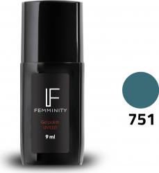 Oje semipermanente F751 9ml - Femminity Manichiura