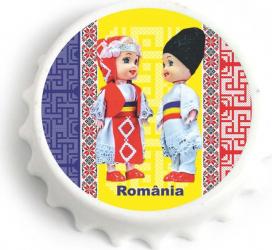 Desfacator de bere cu magnet Costume traditionale Cadouri
