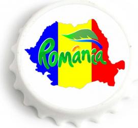Desfacator de bere cu magnet Harta Romania