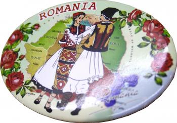 Desfacator de bere cu magnet oval Romania Cadouri