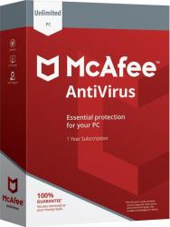 McAfee Antivirus 2020 - 10 Dispozitive 1 An