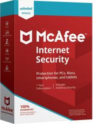 McAfee Internet Security 2020 - 10 dispozitive 1 an