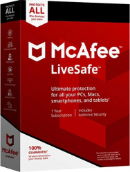 McAfee LiveSafe Unlimited Devices 2020 - 10 Dispozitive 1 An