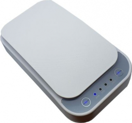 Sterilizator pentru telefon masca lumina UV Alb