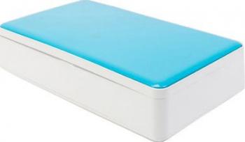 Sterilizator pentru telefon masca lumina UV Cu Aromaterapie Si Incarcare Wireless Albastru