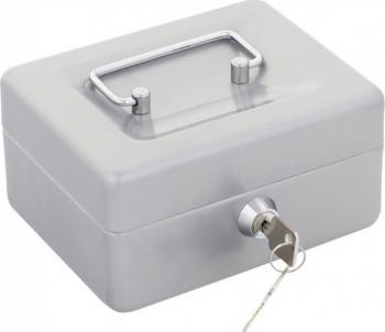 Caseta bani Traun 1 85x150x130mm argintiu
