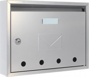 Cutie postala Imola argintiu 240x320x60 mm Cutii postale
