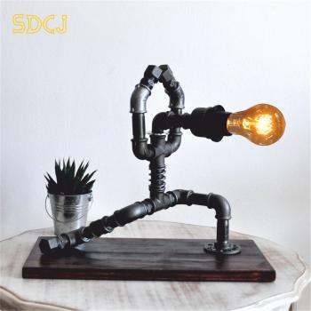 lampa flamenco steampunkdesigncj lampa steampunk corp de iluminat Corpuri de iluminat