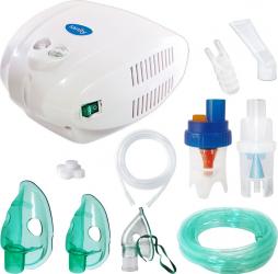 Aparat aerosoli Sanity Alergia Stop Inhaler PRO nebulizator cu compresor 3 masti futun 2m si 6m