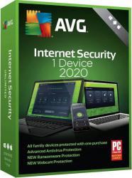 AVG Internet Security 2020 - 1 Dispozitiv 1 An Antivirus