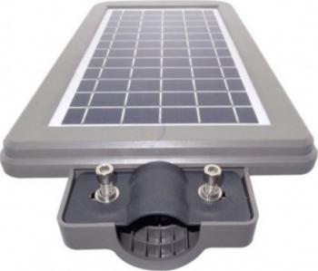 Lampa stradala pentru exterior 90 watt cu incarcare solara si senzor de miscare Corpuri de iluminat