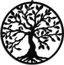 Decoratiune pentru perete Copacul Vietii 40 cm Tablouri