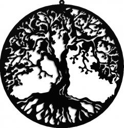 Decoratiune perete Copacul Vietii 45 cm Tablouri