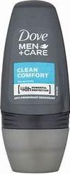 DOVE ROLL-ON 50 ML CLEAN COMFORT MEN Deodorant