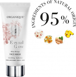 Masca faciala iluminatoare ten obosit si tern Eternal Glow -Organique 70 ml Masti, exfoliant, tonice