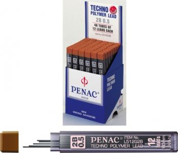 Pachet 3 seturi Mine pentru creion mecanic 0 3mm 12/set PENAC - HB Articole si accesorii birou