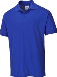 Tricou Polo Naples albastru 4XL