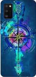 Husa Silicon Soft Upzz Print Samsung Galaxy Galaxy A41 Model Compas