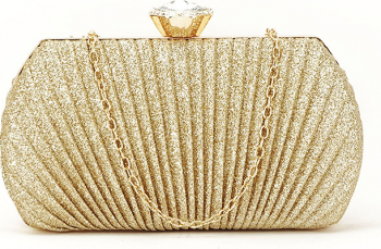 Geanta clutch auriu Elisabeta