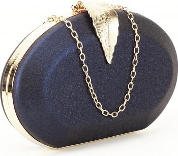 Geanta clutch bleumarin Margareta