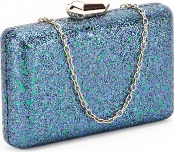 Geanta clutch bleumarin Sonia