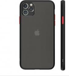 Husa de protectie Bibilel pentru iPhone 11 Pro protectie spate bumper capac de protectie Negru BBL1579 Huse Telefoane